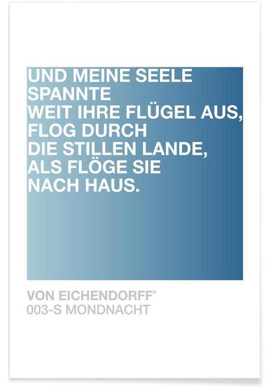 Mondnacht Light 03 -Poster