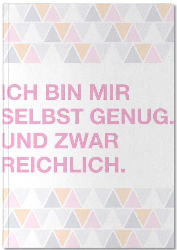 Citations et slogans, Selbst Genug Notebook