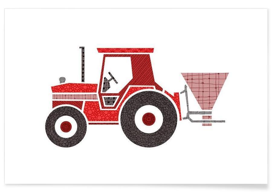 Traktor -Poster