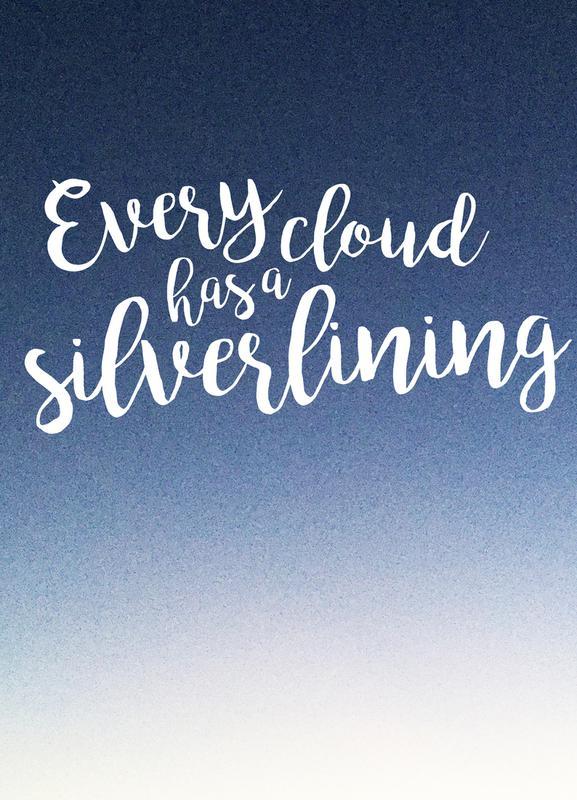 Every Cloud -Leinwandbild
