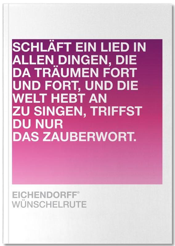 Citations et slogans, Wünschelrute Notebook