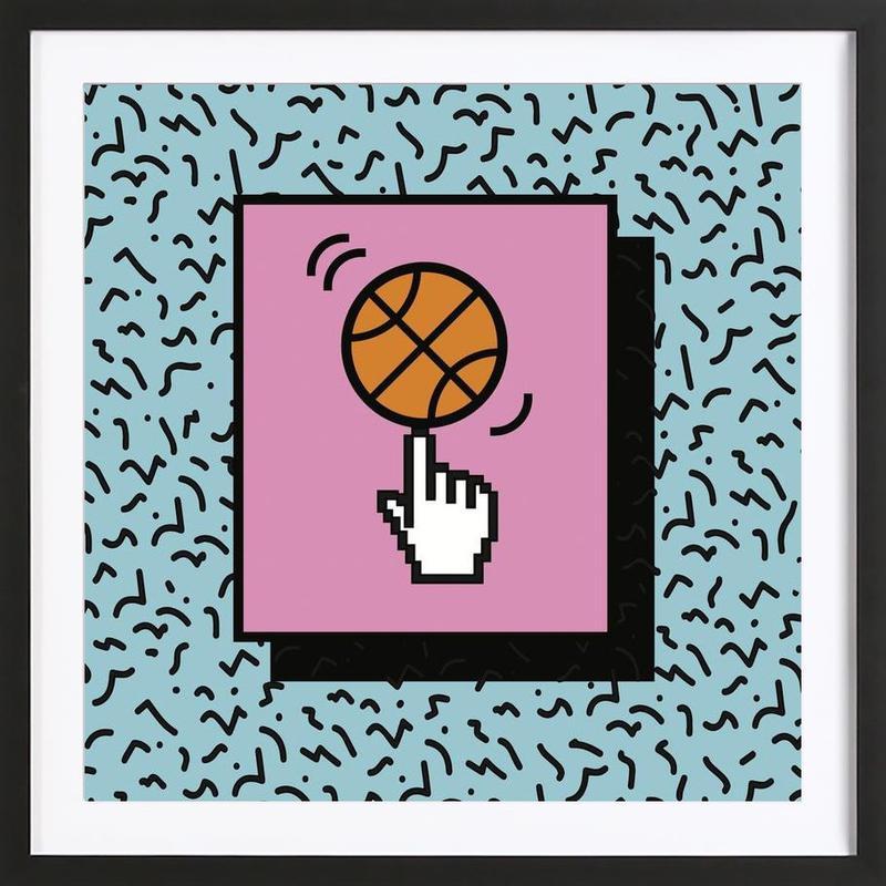 Ball Tricks Framed Print