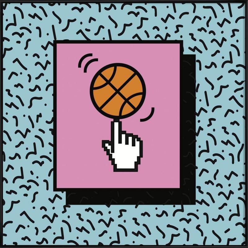 Ball Tricks Framed Poster