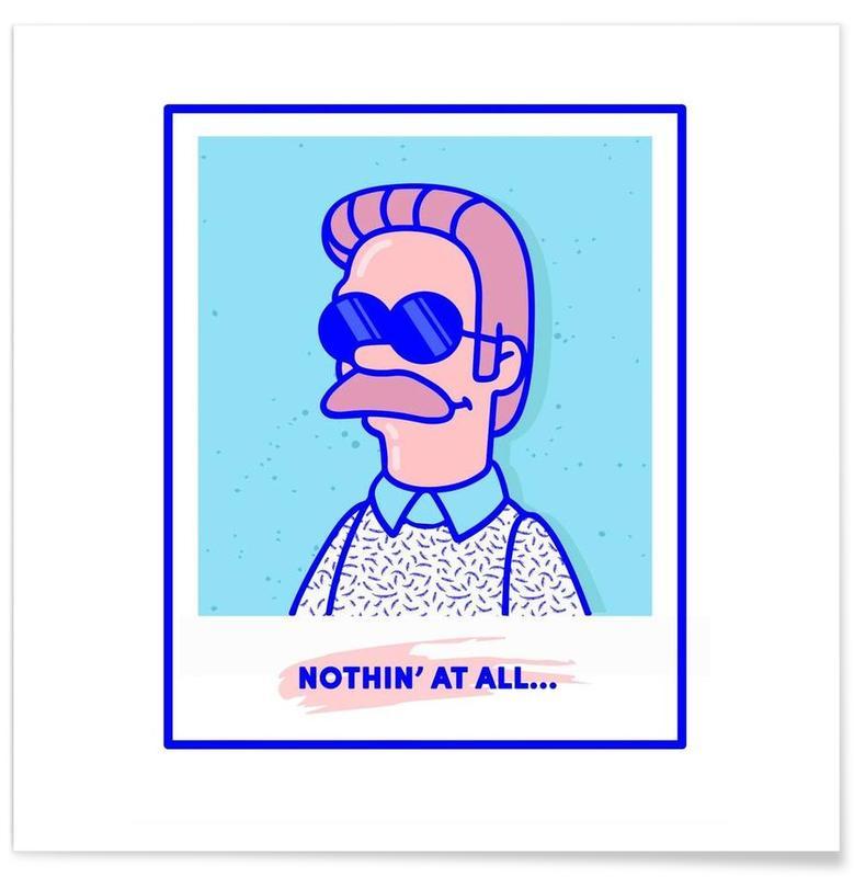 Humour, Pop Art, Neddy affiche