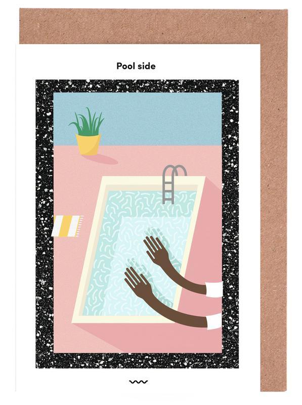 Street Art, Pool Side cartes de vœux