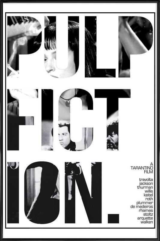 Pulp Fiction ingelijste poster