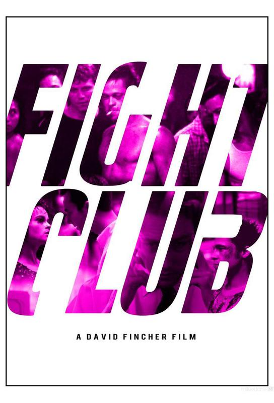 Fight Club Aluminium Print
