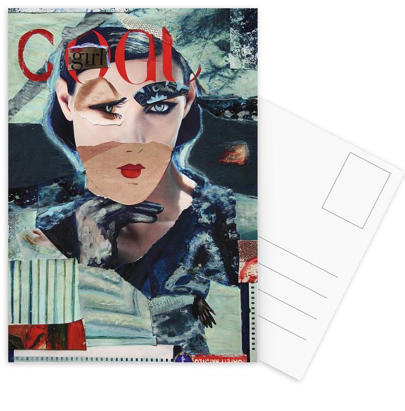 Cool Girl Postcard Set