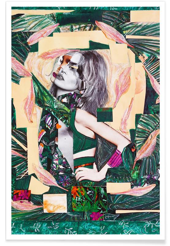 Fashion Illustrations, Palms, The Jungle Inside Of Me Poster