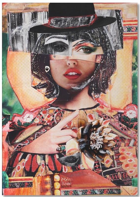 Portraits, Amour Rouge Corail bloc-notes