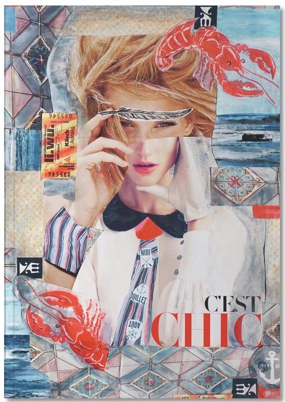 Portraits, C'est Chic Notebook