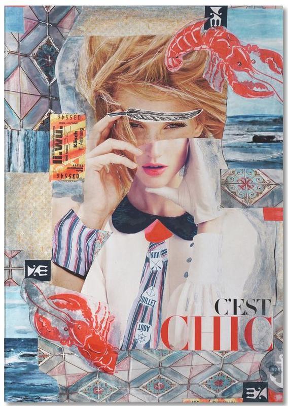 Portraits, C'est Chic bloc-notes