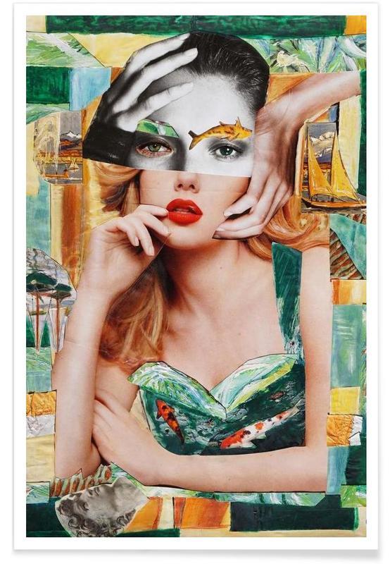 Portraits, Impression Poster