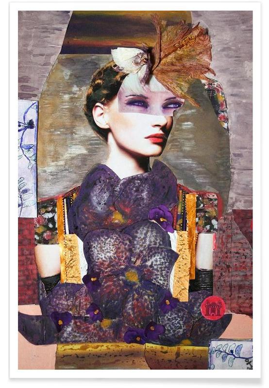 Portraits, Mauerblümchen Poster