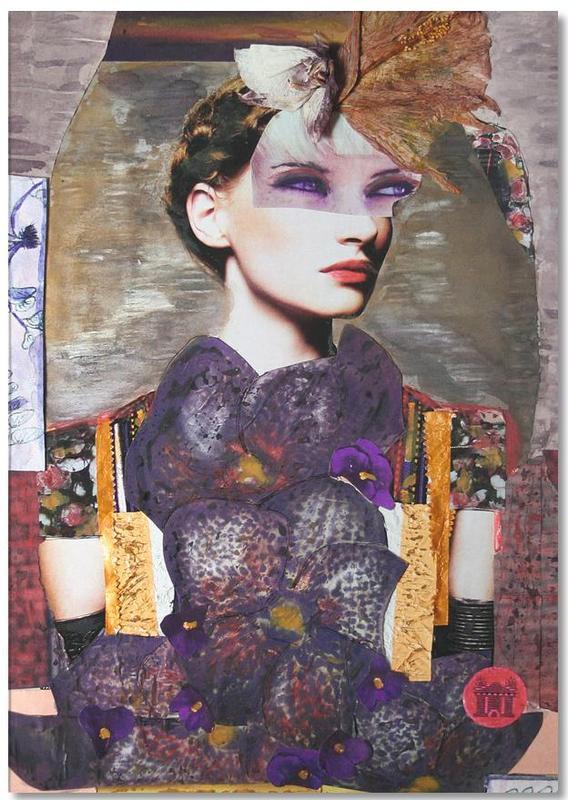 Porträts, Mauerblümchen -Notizblock