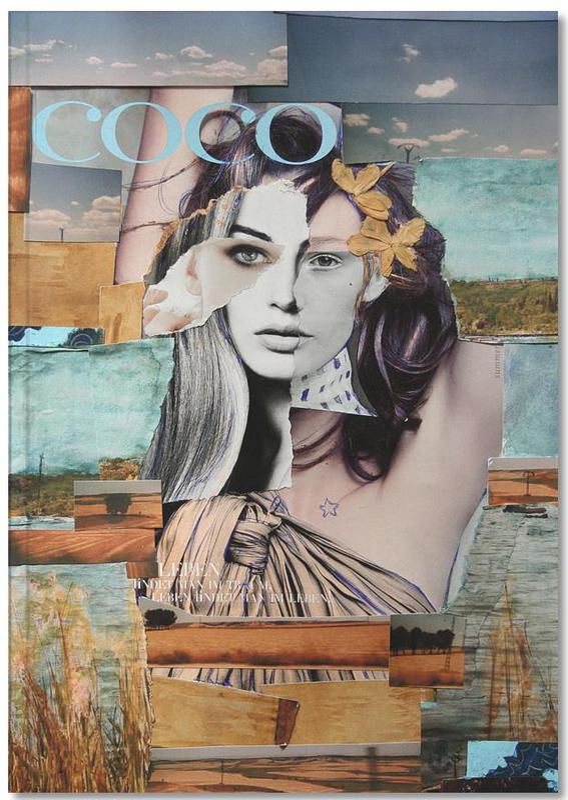 Portraits, Coco de la Mancha Notebook
