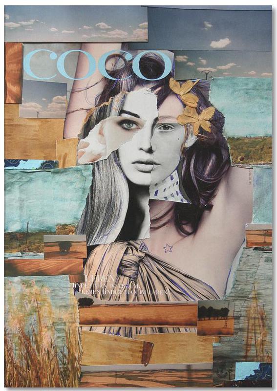 Portraits, Coco de la Mancha Notepad