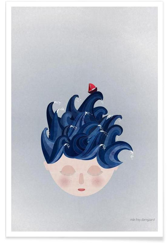 Traumwelt, Musings Waves -Poster