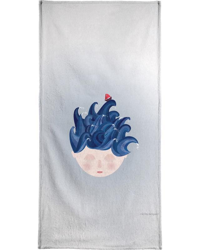 Traumwelt, Musings Waves -Handtuch