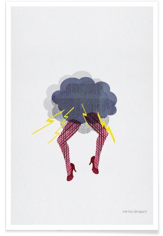 Körperformen, Hysterical -Poster