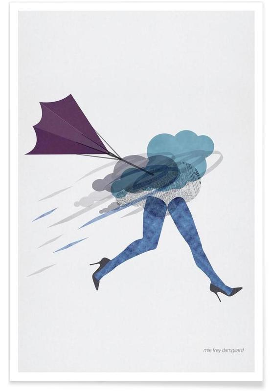 Körperformen, Stressed -Poster