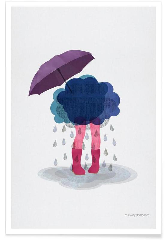 Kinderzimmer & Kunst für Kinder, Miserable -Poster