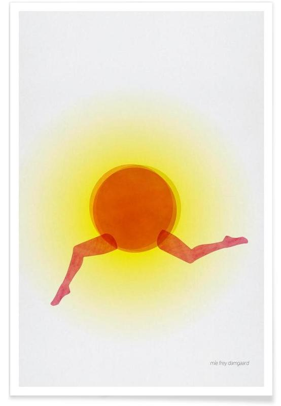 Körperformen, Joyful -Poster