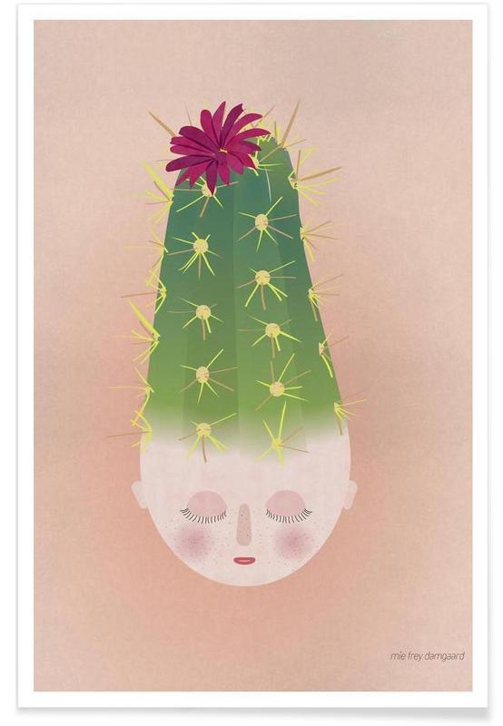 Kaktus, Musings Cactus -Poster