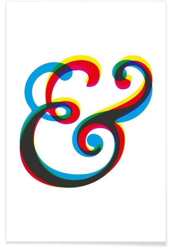 Symbolen, Ampersand I poster