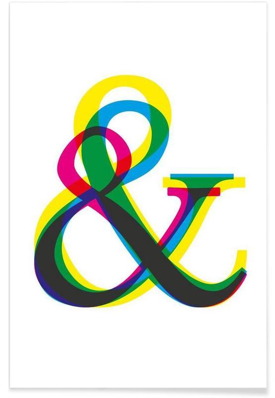 Symboles, Ampersand II affiche
