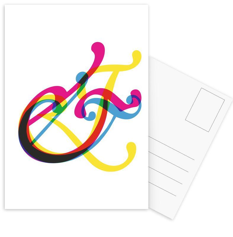 Symbols, Ampersand III Postcard Set