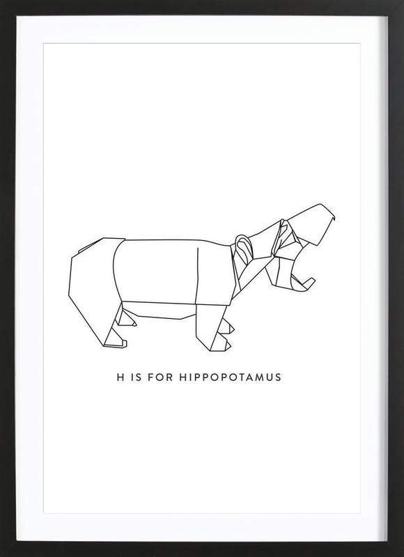 H Framed Print