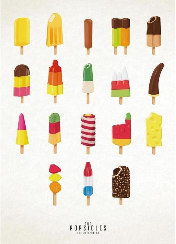 The Popsicle Project -Leinwandbild