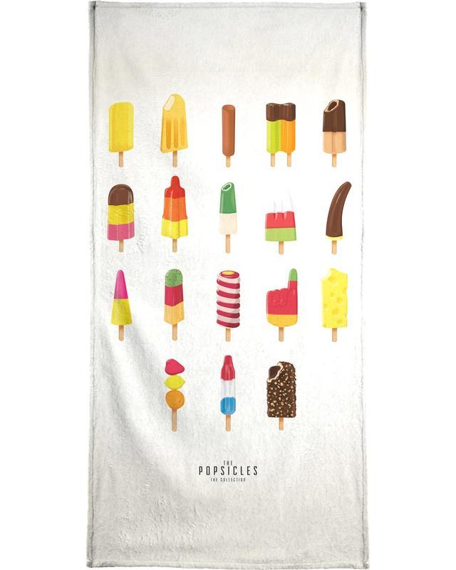 Glaces, The Popsicle Project serviette de bain