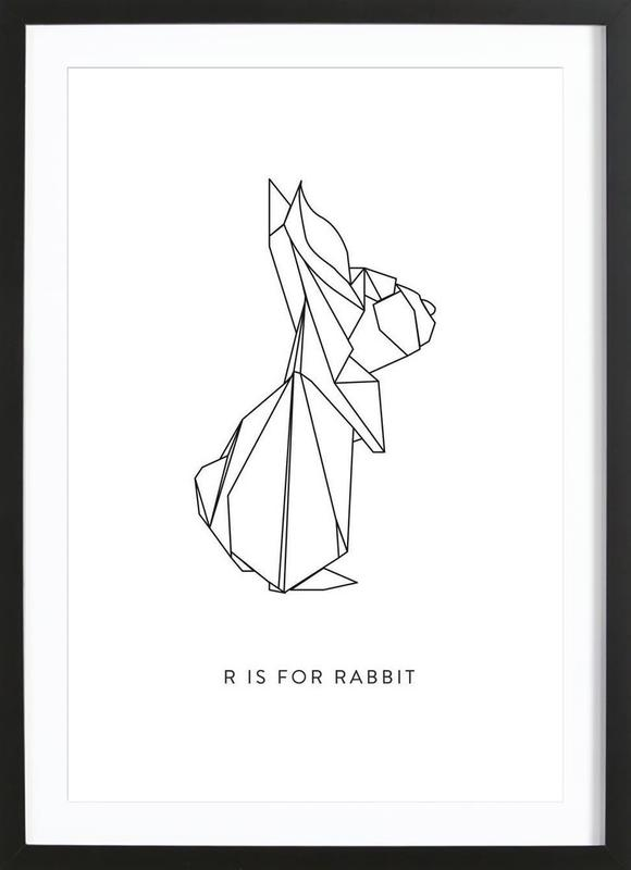 R Framed Print