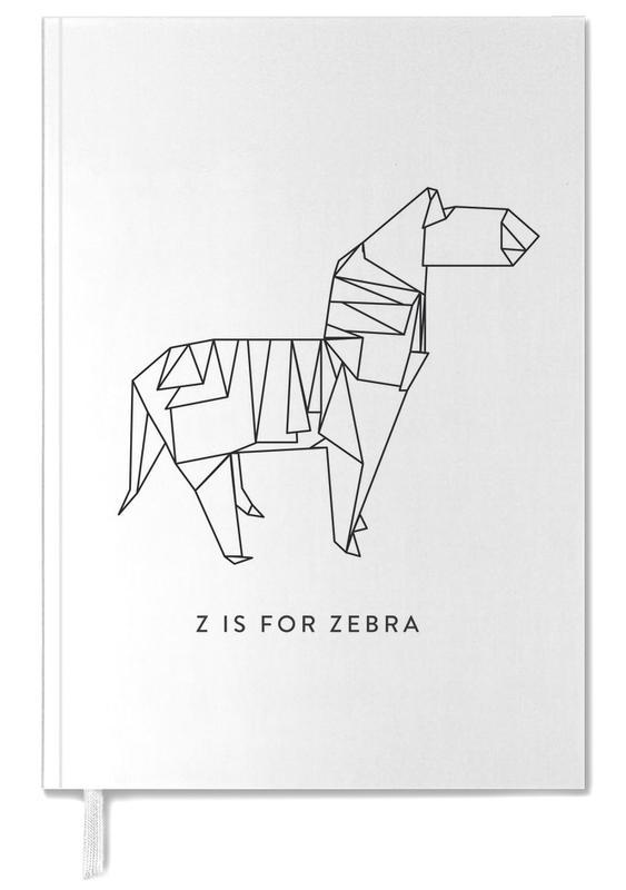 Zebras, Black & White, Z Personal Planner
