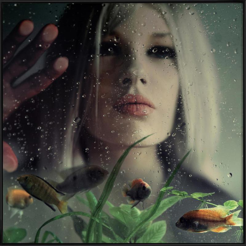 Underwater Love Framed Poster