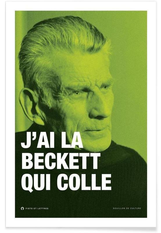 Grappig, Beckett poster
