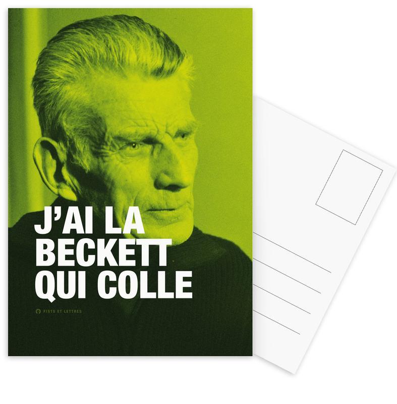 Grappig, Beckett ansichtkaartenset