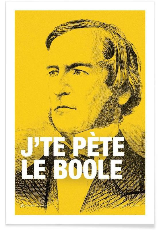 Grappig, Boole poster