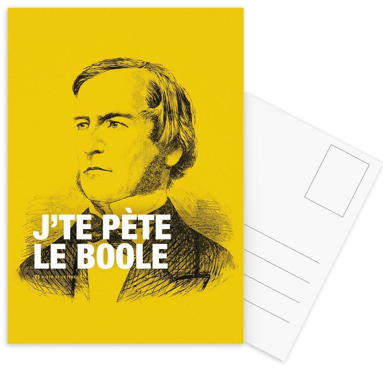 Grappig, Boole ansichtkaartenset