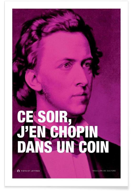 Funny, Chopin Poster