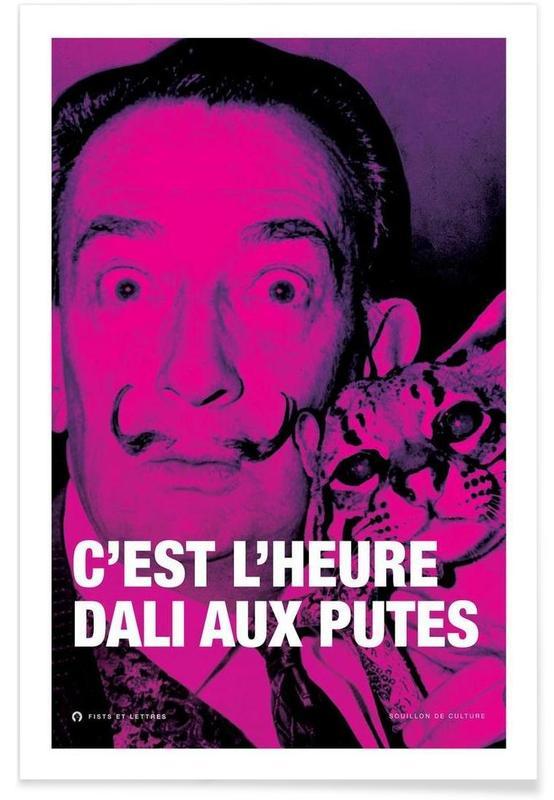 Quotes en slogans, Grappig, Salvador Dali, Dali poster