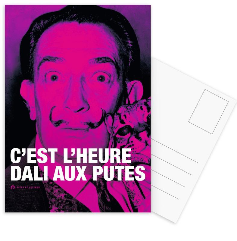 Dali Postcard Set
