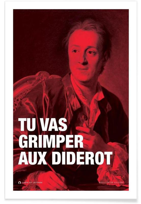 Grappig, Diderot poster