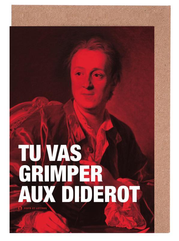 Diderot Greeting Card Set