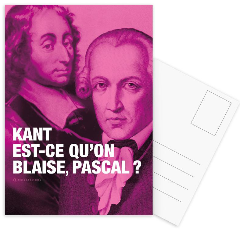 Grappig, Quotes en slogans, Kant ansichtkaartenset