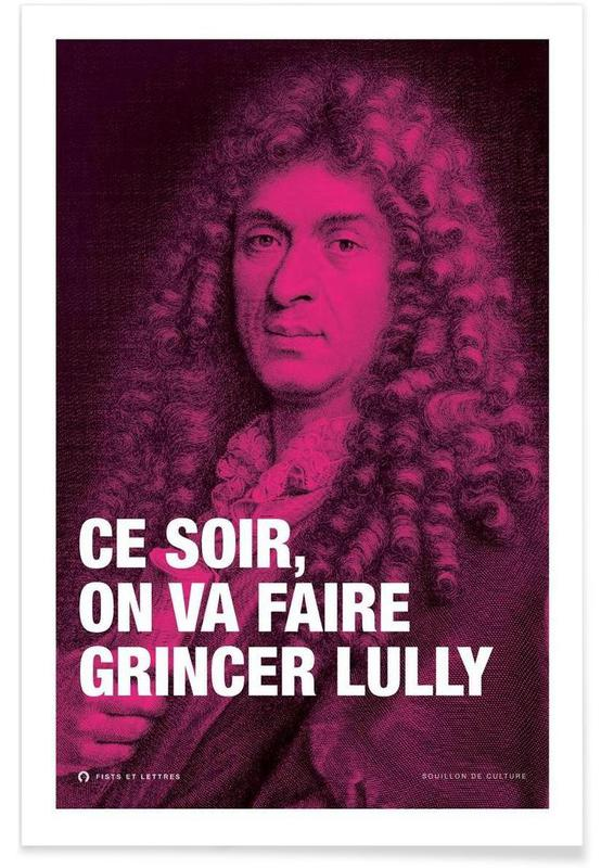 Grappig, Lully poster