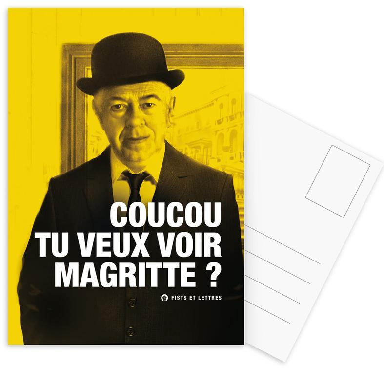 Magritte -Postkartenset