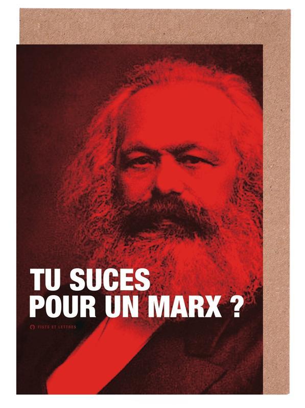 Marx Greeting Card Set